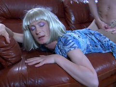 Eddie&Silvester femaleclothed crossdresser on video